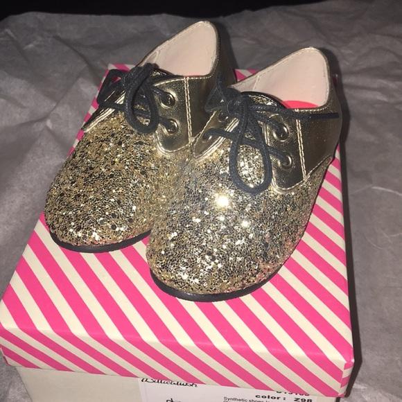 Billieblush Shoes | Gold Oxford | Poshmark